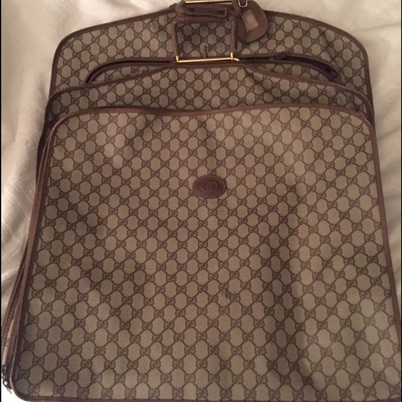 Gucci Handbags - Gucci Vintage Garment Bag 8dee575562dc4
