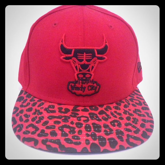 b93d3cceb45235 Chicago Bulls Windy City Patterned Hat. M 5893e6c8bf6df5be1b016655