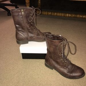Madden girl boots size 6.5