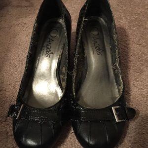Angels Shoes - Short black heels