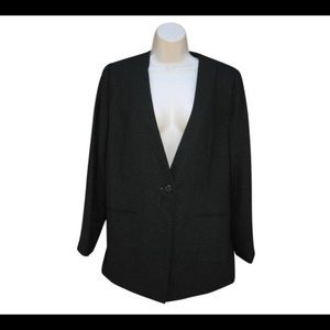Halston Jackets & Blazers - Vintage Halston Metallic Blazer Jacket