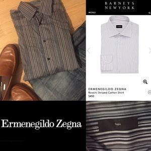 Z Zegna Other - EUC  zegna designer cotton button dress shirt
