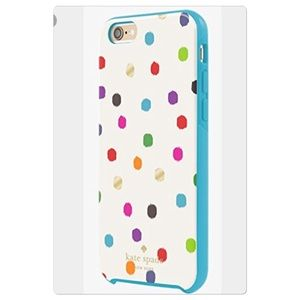 wholesale dealer b9a11 89772 🎉HP🎉NWT Kate Spade polka dot iPhone 6+ case NWT