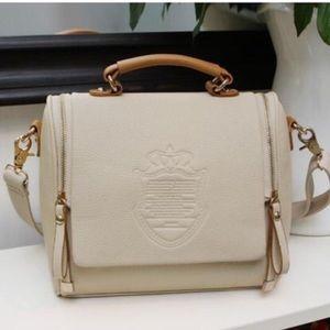 Handbags - Barrel-Shaped Cross Body Shoulder Bag