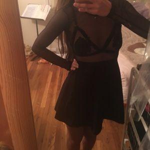 Motel Rocks Dresses & Skirts - Motel Rocks XS Sheer Mesh Multiway Dress