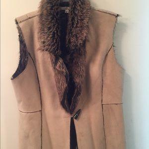 Fever London Jackets & Blazers - Faux fur Shearling vest