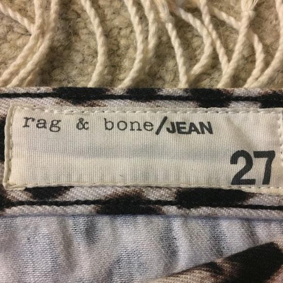 rag & bone Jeans - RAG AND BONE BOYFRIEND JEANS IN SNOW LEOPARD