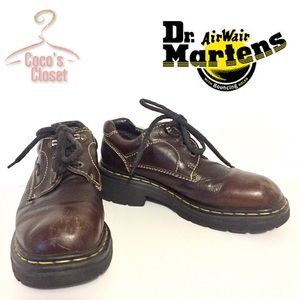 Dr. Martens shoes in beautiful brown leather!