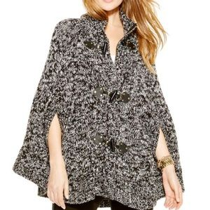 Michael Kors Toggle Marbled Sweater L NWT! $175