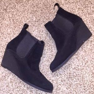 LUCKY BRAND Wedge Booties 