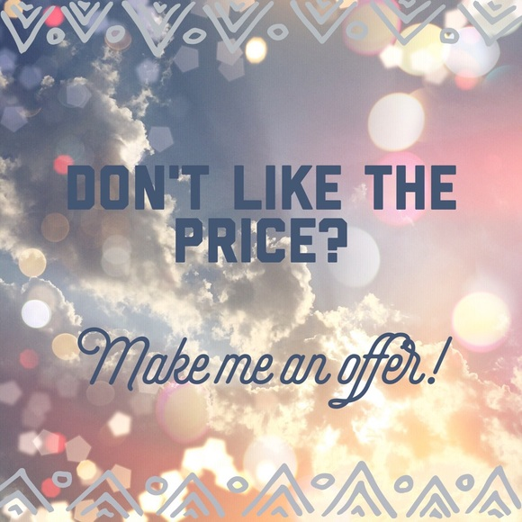 Other - Don't like the price?  Make me an offer!