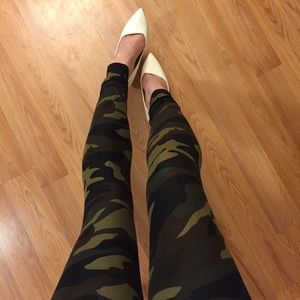 Pants - •new• Supersoft Brushed Camo Leggings