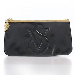 GENTLY USED Victoria's Secret makeup/cosmetic bag.