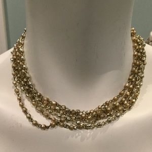 Jewelry - Vintage necklace pearl and beads