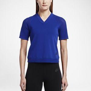 Royal Blue Nike Tech Knit Top