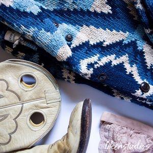 Denim & Supply Ralph Lauren Sweaters - 💋SALE💋Ralph Lauren | Blue Tribal Cardigan 🆕