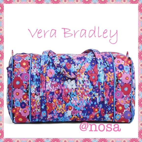 Vera Bradley Bags   Large Duffel Impressionista   Poshmark e1c6d65d9b