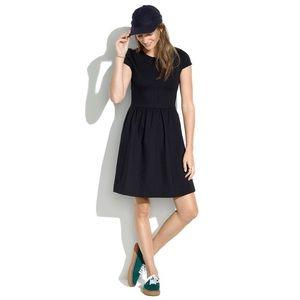 Madewell Black Ponte Dress sz XS