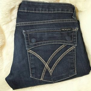 William Rast Denim - William Rast Belle Flared with Flap Jeans Size 29