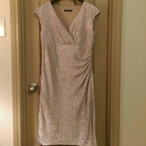Marina Rinaldi Dresses & Skirts - Nude Cocktail Dress