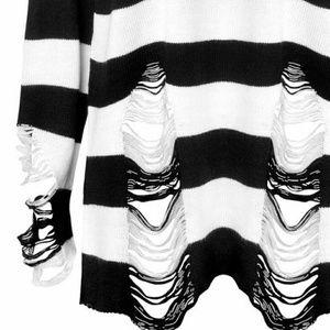 Killstar 'Pugsley' Knit Sweater Dress