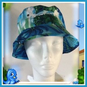 Blue Hawaii Bucket Hat