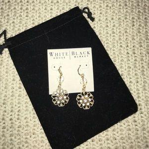 White House Black Market Jewelry - Flower earrings