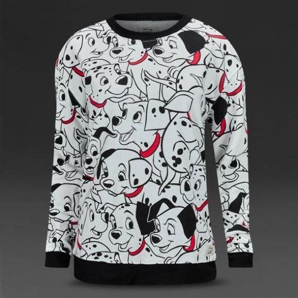 ebdb9f1279 Vans Disney 101 Dalmatians Crew Neck Sweater