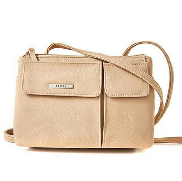 1358e2cbec72 Handbags - Koltov Tripoli In Hunter Zipper Handbag