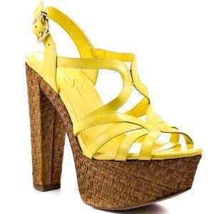  Jessica Simpson Cizal Heel Sandal