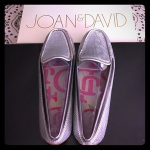 Joan & David Shoes - JOAN & DAVID Dafaline Silver loafer