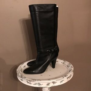 """Arturo Chiang Shoes - Arturo Chiang Black """"Sonora"""" Leather Boots"""