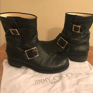 Jimmy Choo Shoes - Jimmy choo youth biker boots