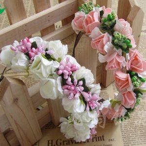 Accessories - Flowery Headband