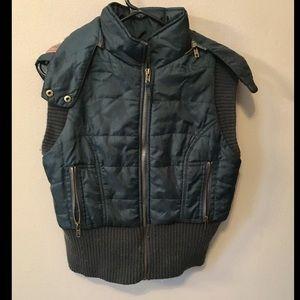 Free People Jackets & Blazers - Free People hooded vest
