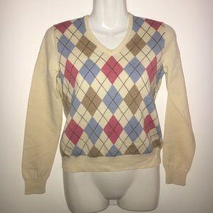 Brooks Brothers Argyle Sweater