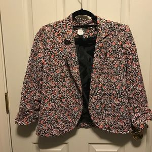 Necessary Objects Jackets & Blazers - Feminine Spring Floral blazer, perfect for Easter!