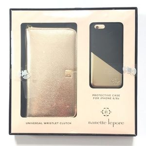 Nanette Lepore Accessories - Nanette Lepore Wristlet & iPhone 6/6s case set