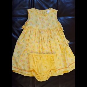 Gymboree Sunflower Dress with Diaper Cover 2T