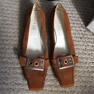 andre Shoes - Brown flats