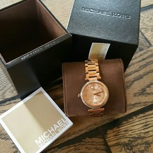 MICHAEL Michael Kors Jewelry - Michael Kors Rose Gold Watch NWT