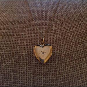 Kay Jewelers Jewelry - Kay Jewelers Heart Locket Necklace