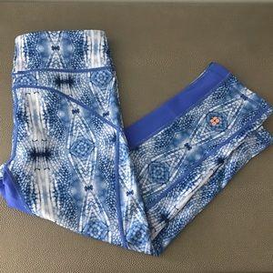 Sweaty Betty Pants - Sweat Betty Reversible Printed 3/4 Legging