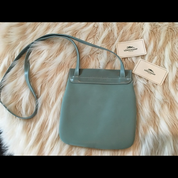 Longchamp Bags - Longchamp blue Crossbody bag
