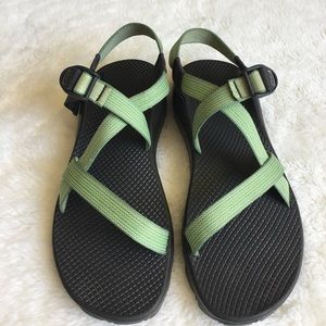 Chaco Shoes - Chaco Women's Green Sandals size 11