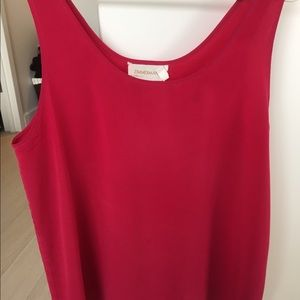 Zimmermann Tops - Fuschia silk tank top