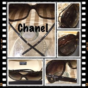 b7b1cf6963906 CHANEL Accessories - Chanel 5280 Havana Brown Bow Tie Sunglasses  9277