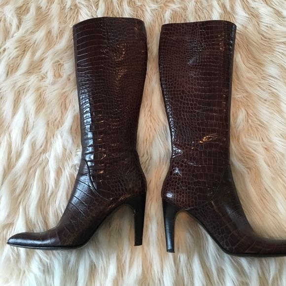 Via Spiga Shoes - Via spiga leather boots size 7