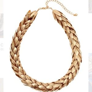 NWOT {H&M} Chunky gold-tone necklace