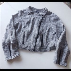 Market and Spruce Elissa French Terry Moro Jacket